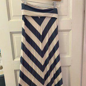 American Rag Striped Maxi Shirt